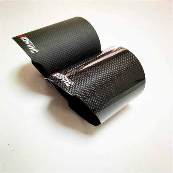 (Universal) Carbon Fibre Exhaust Tip Covers (76mm - 114mm)