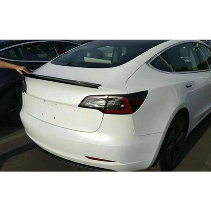 Tesla Model 3 Carbon Fibre Rear Lip Spoiler (2017 - 2020)