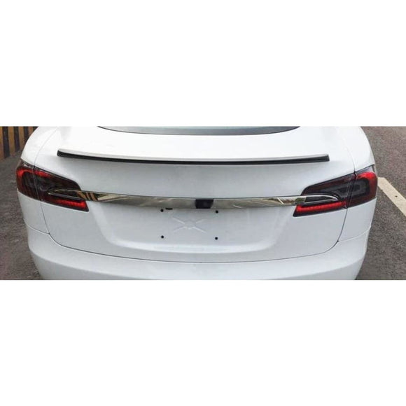 Tesla Model S Carbon Fibre Performance Style Rear Spoiler (2012 - 2020)