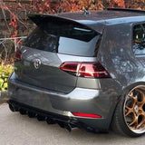 Volkswagen Golf Mk7.5 GTI Carbon Fibre TCR Style Rear Diffuser Kit (2017 - 2019)