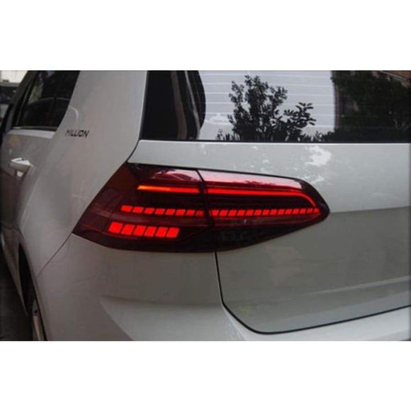 Volkswagen Golf Mk7/Mk7.5 LED Dynamic Rear Light Replacement Units (2012 - 2019)