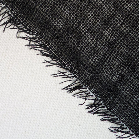 Japanese Fulling Wool - Black