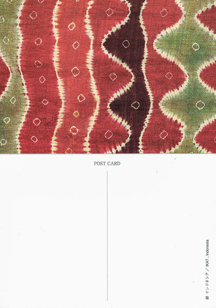 COLOR: Dyeing & Textile Asia Postcard Book - Volume 1