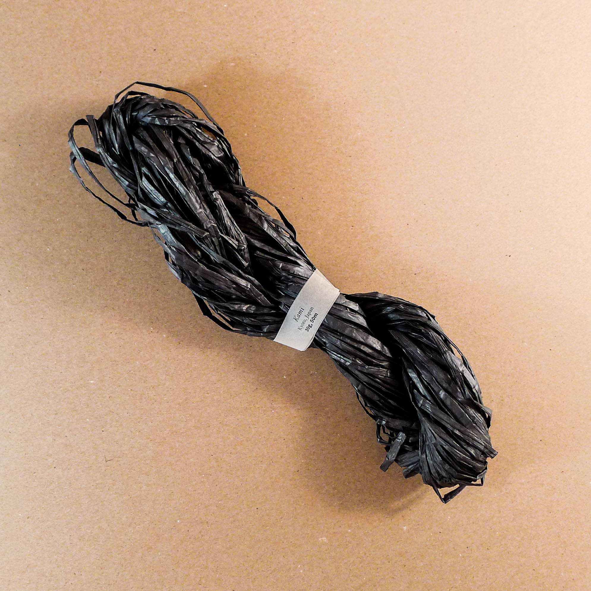 Kami Paper Yarn - Black