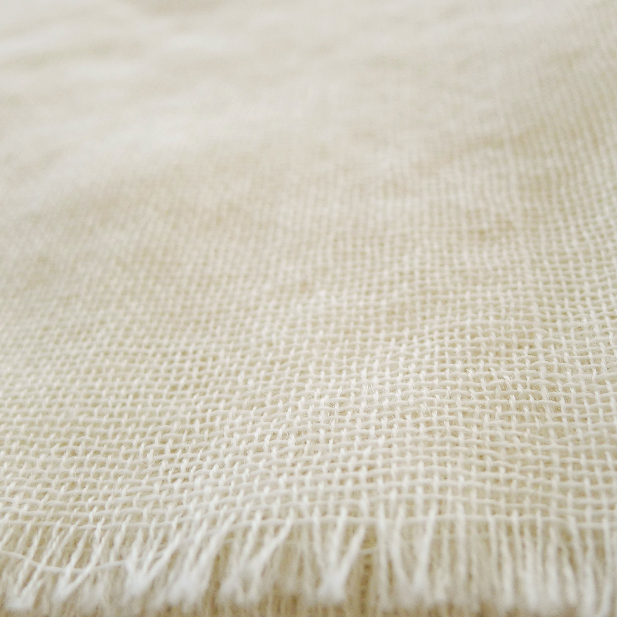 Japanese Fulling Wool - White