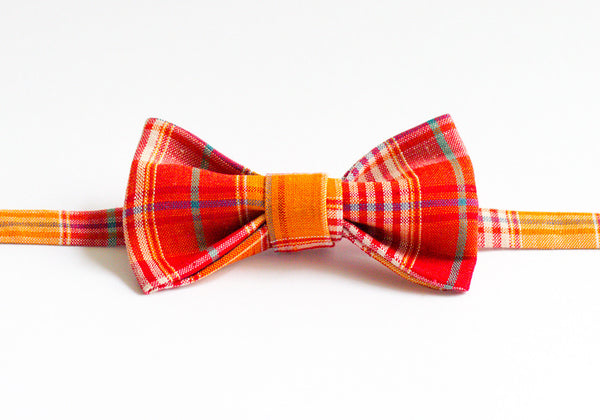 Blood Orange Tartan