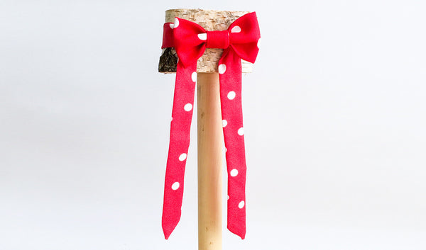 Red and White Polka Dots (Silk)