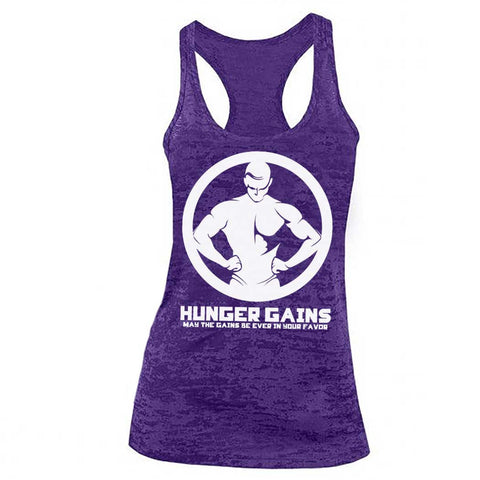 "Hunger GAINS ""Physique"" Womens Racerback"