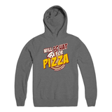 Will Squat For Pizza Pullover (unisex)