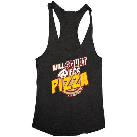 Will SQUAT for PIZZA! (womens)