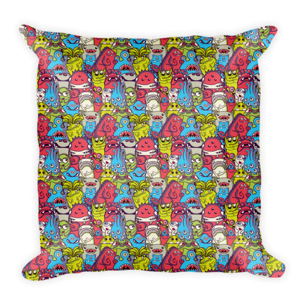Monsters Pillow