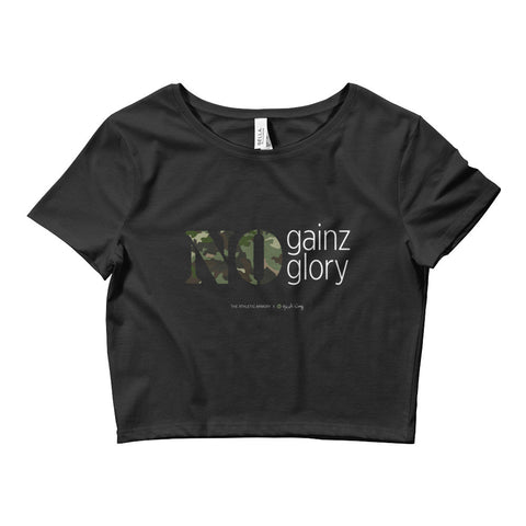 No Gainz No Glory Crop