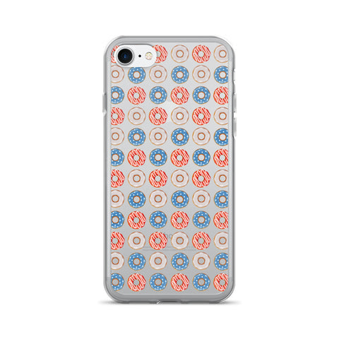 Patriotic Donuts iPhone 7/7 Plus Case