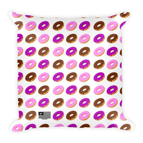 Donuts all over Pillow