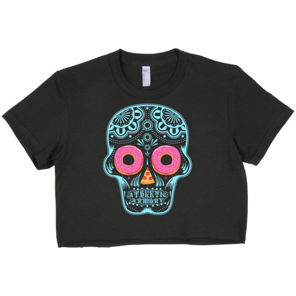 Sugar Skull (Crop Top Tee)