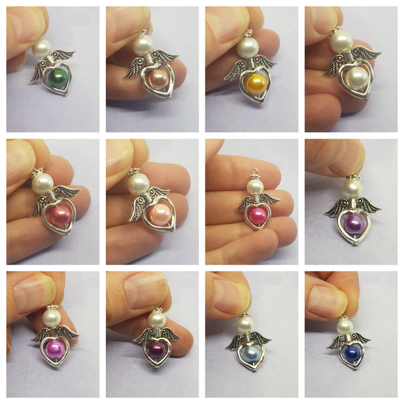 Bead Angel Charms