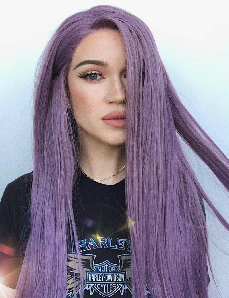 Psylocke|Synthetic Swiss Lace Front Wig