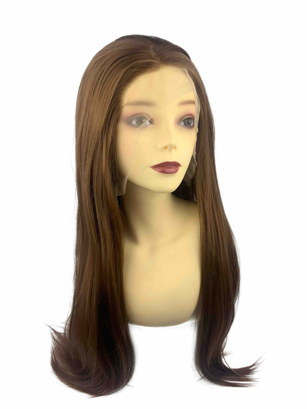 Leopard | synthetic swiss lace front wig