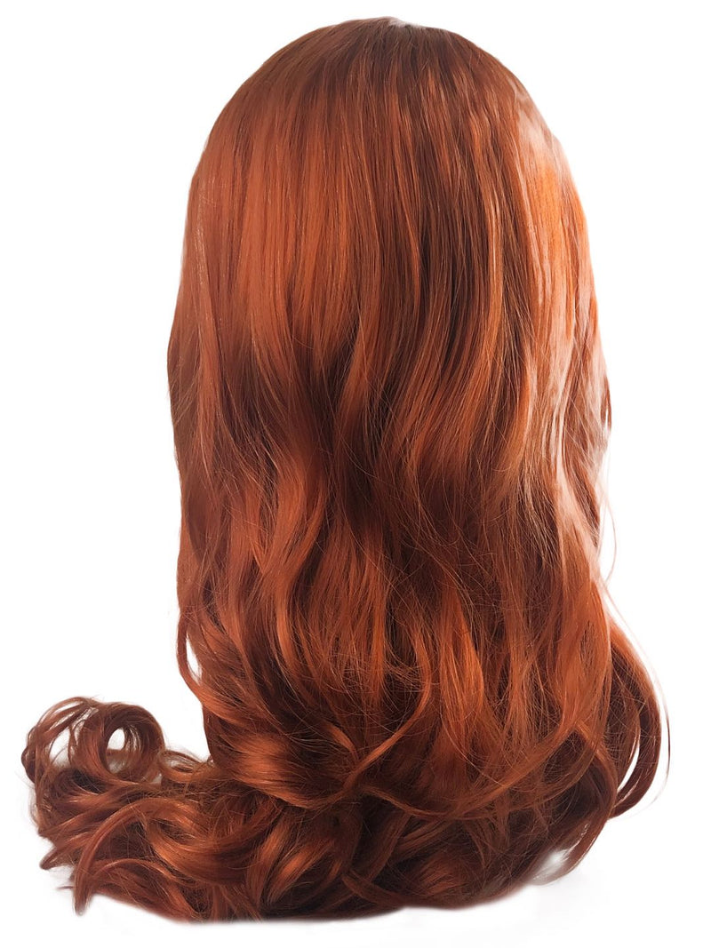 Mera|Synthetic Swiss Lace Front Wig
