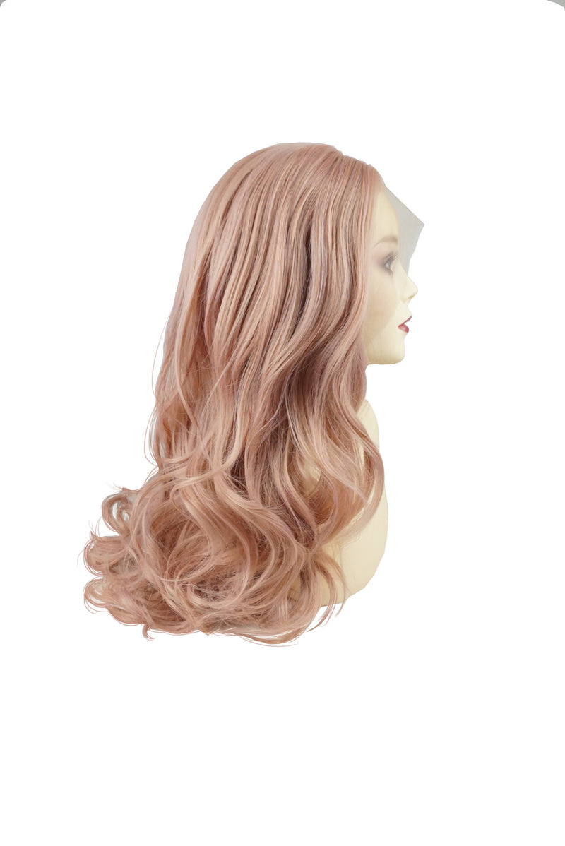 Pinky Quartz|Synthetic Swiss Lace Front Wig