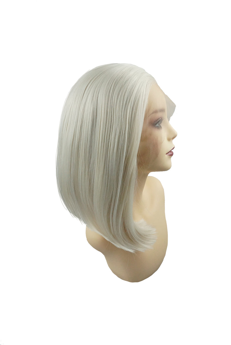 Kate|Synthetic Swiss Lace Front Wig