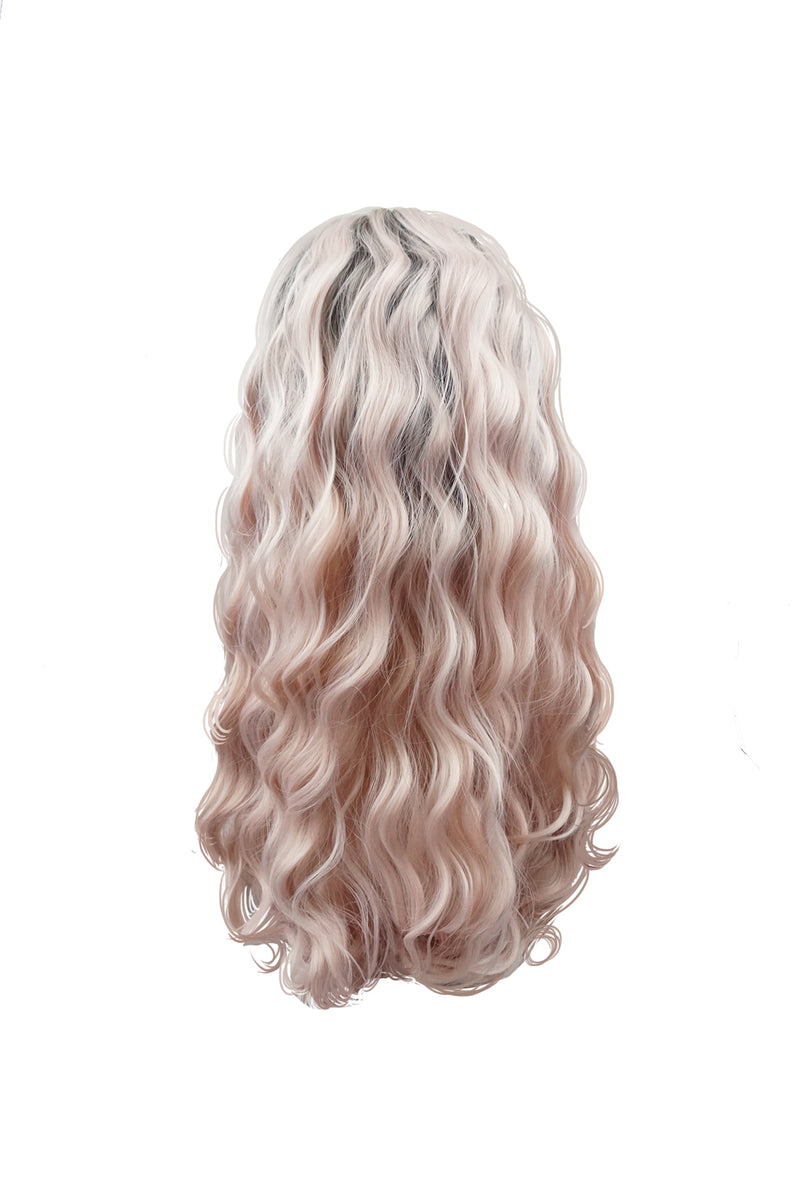 Flamingo|Synthetic Swiss Lace Front Wig