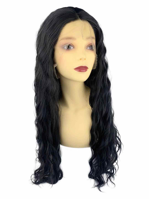 Dina | synthetic swiss lace front wig