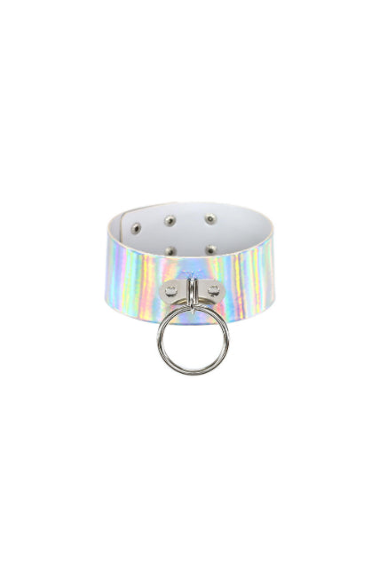Laser Choker with metal ring
