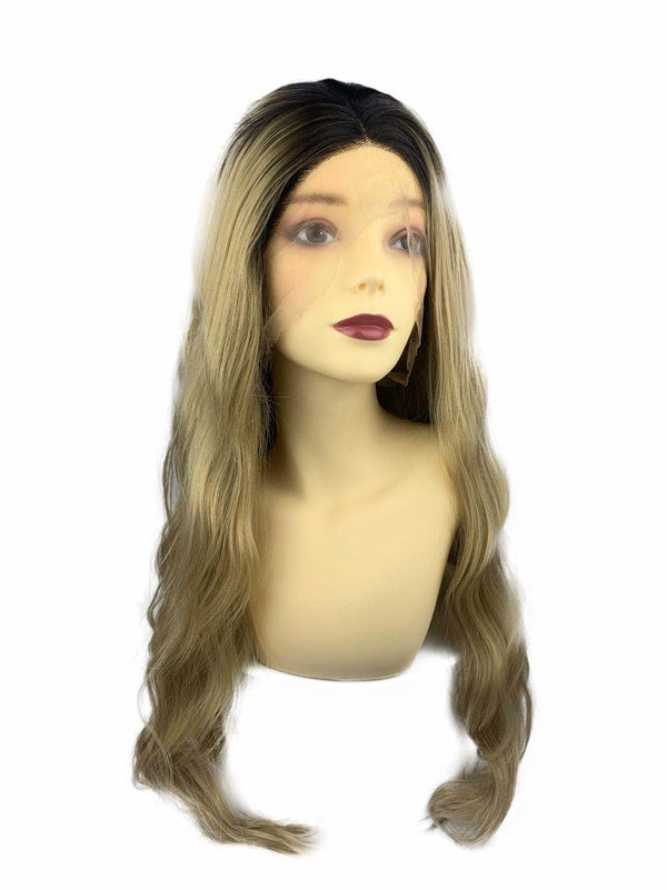 Queen B | synthetic Swiss lace front wig