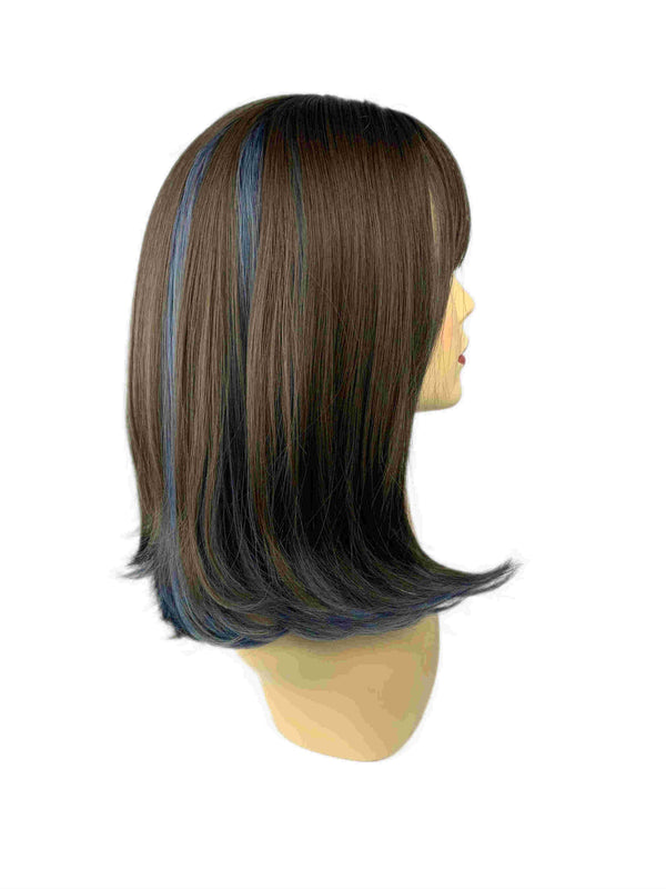 Berry blue | Capless cap wig