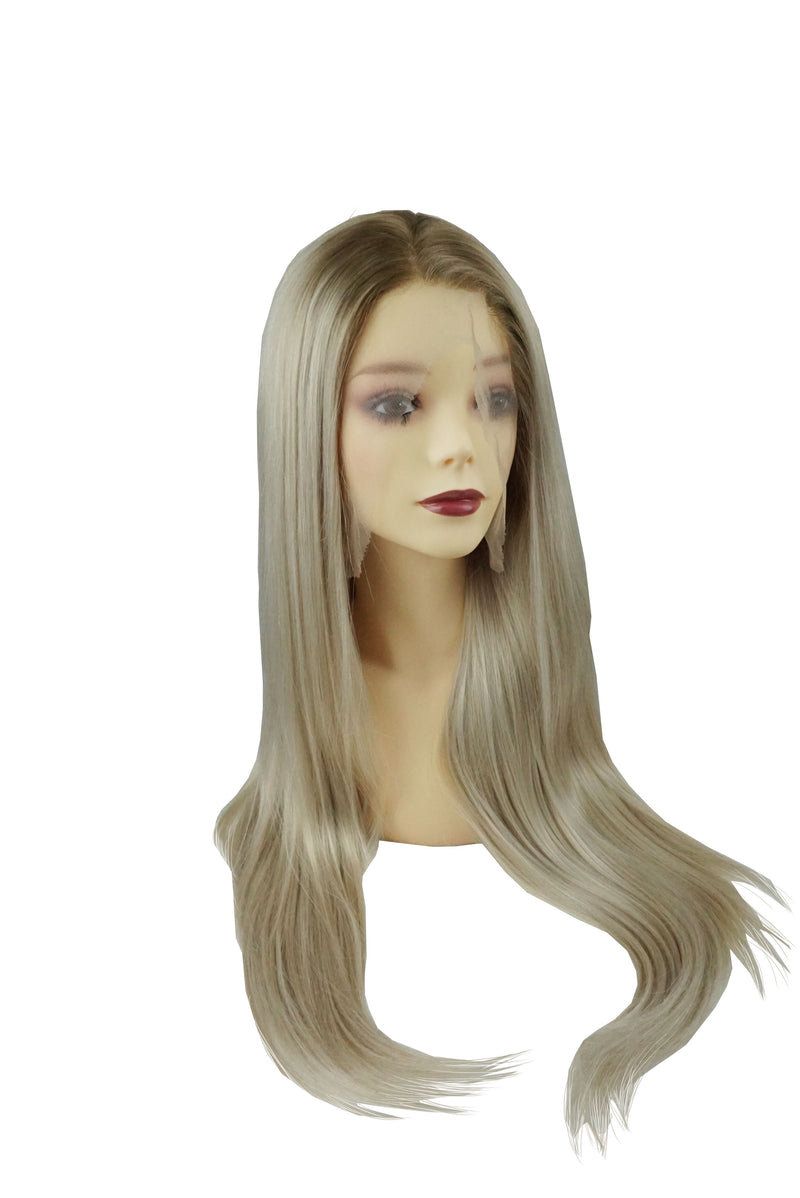 Golden Pearl|Synthetic Swiss Lace Front Wig