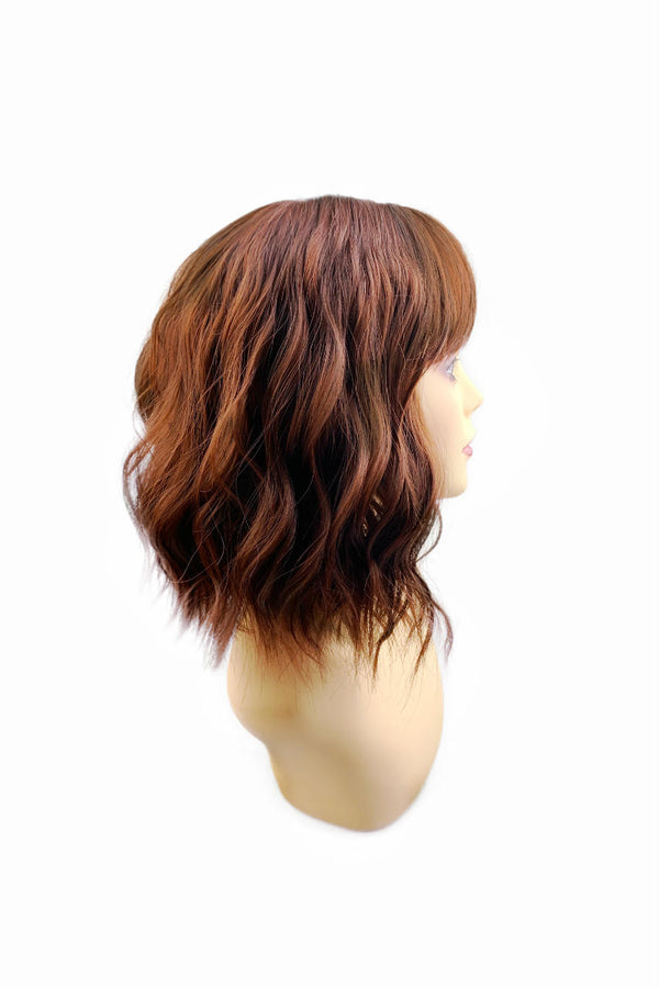 Root beer | synthetic capless cap wig