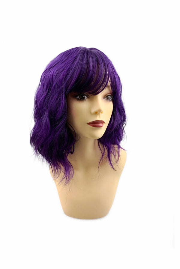 Plum berry punch | synthetic capless cap wig