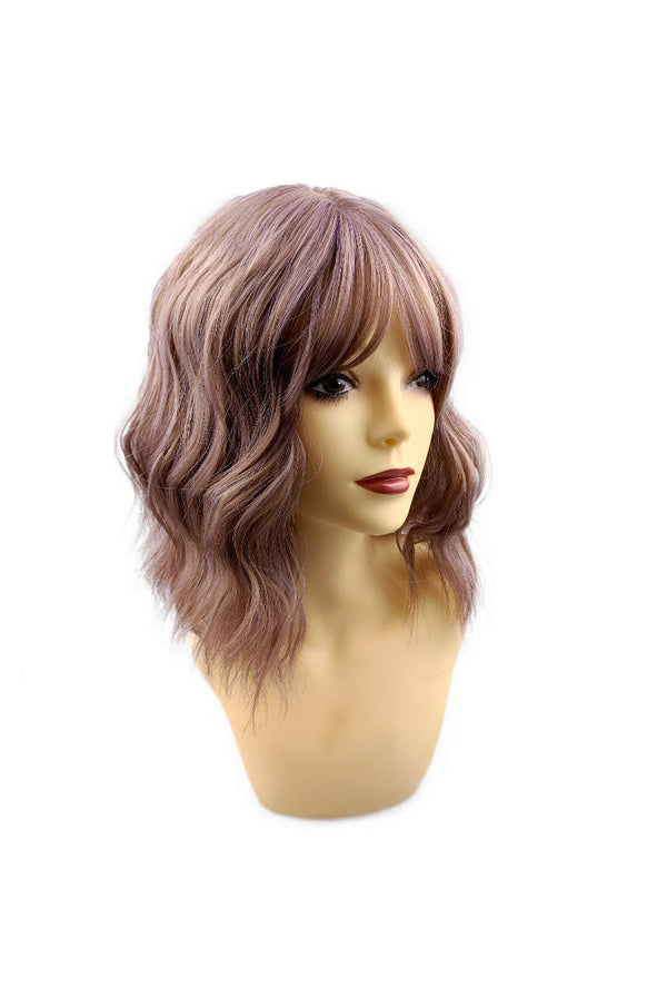 Raspberry crush | synthetic capless cap wig