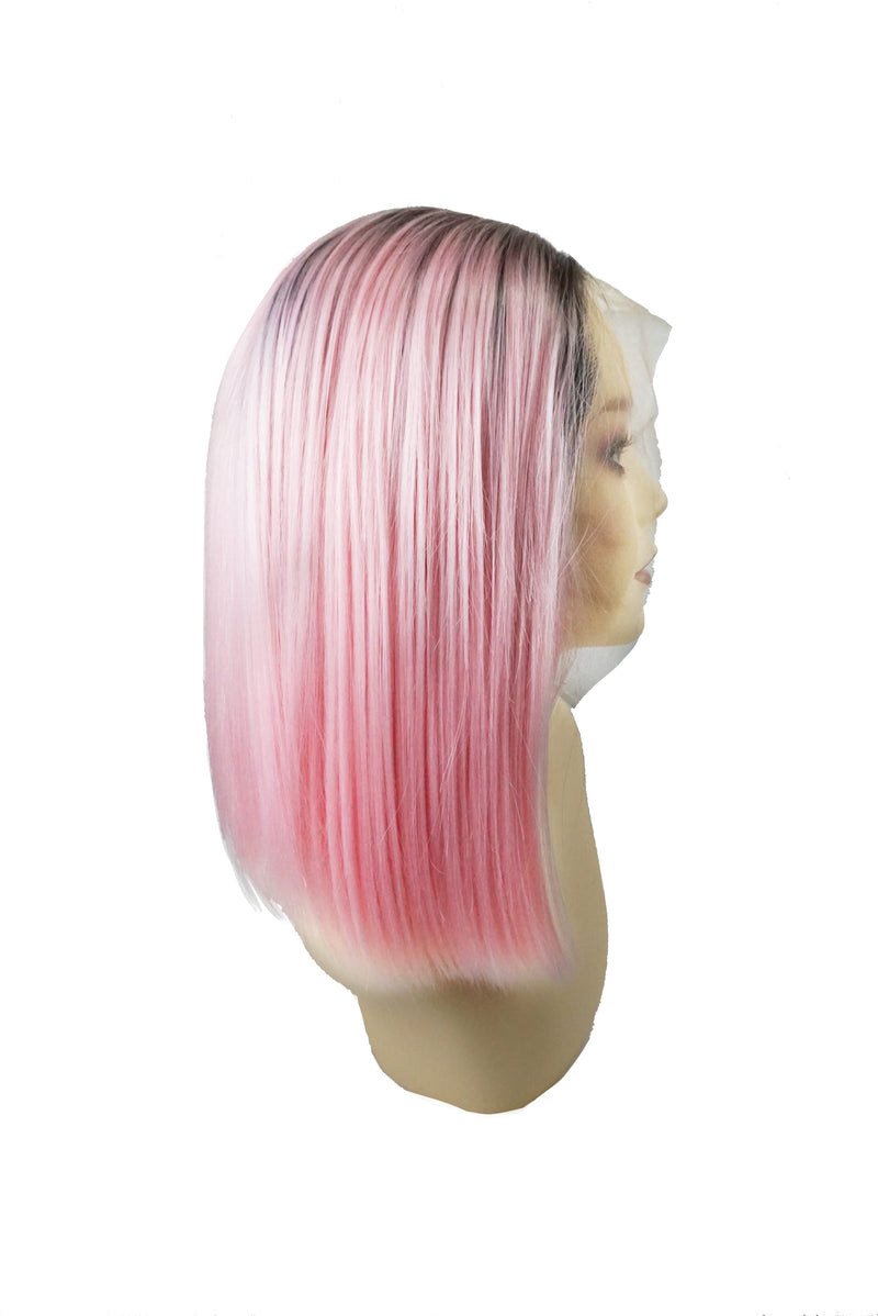 Camellia|Synthetic Swiss Lace Front Wig