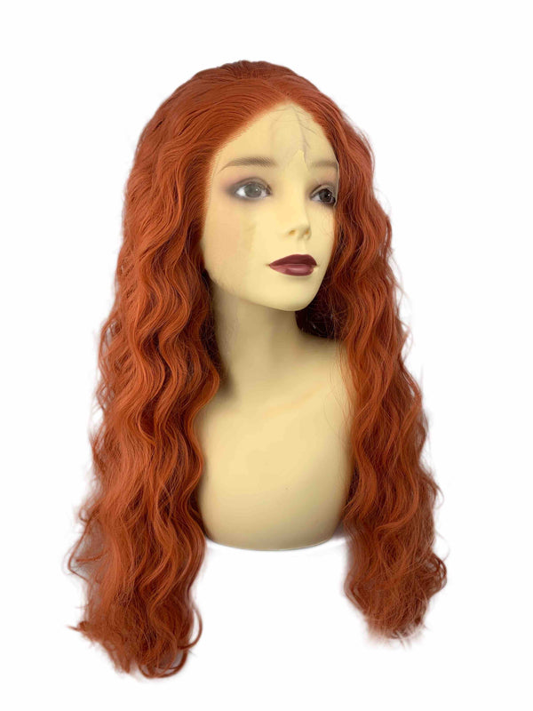 Pussy | synthetic swiss lace front wig