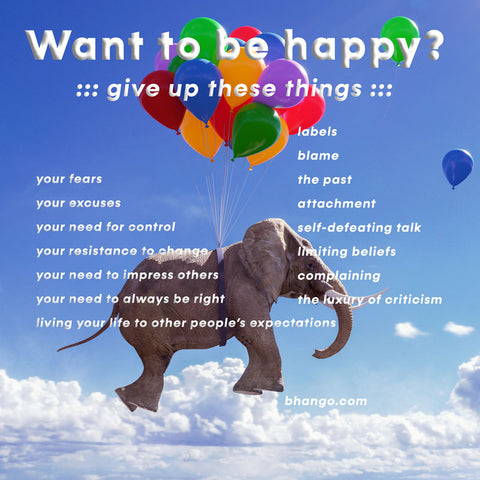 Want to be happy