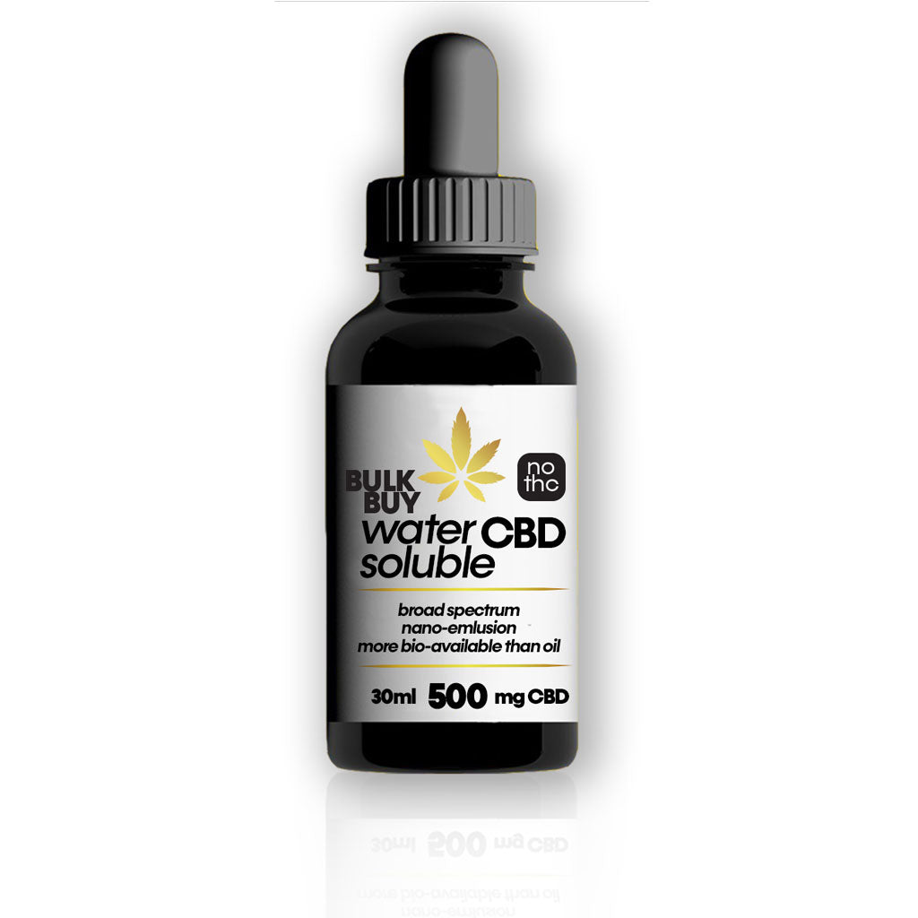 500mg Water Soluble CBD Tincture with anti-inflammatory Curcumin - 30ml - Bhango CBD Boutique