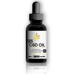 3500mg Bulk Buy CBD Oil Tincture in MCT (coconut oil) | Flavorless | 1oz bottles & 6 packs - Bhango CBD Boutique