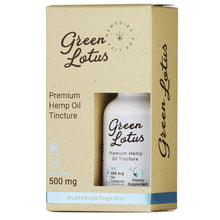 Green Lotus™ Premium Hemp Oil Tinctures - Natural Flavor - Bhango CBD Boutique