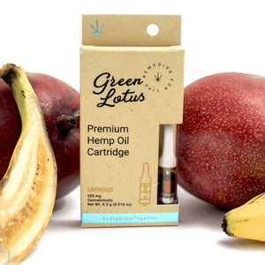 250mg CBD Distillate Vape Cartridge - Apple Banana Flavor - Bhango CBD Boutique