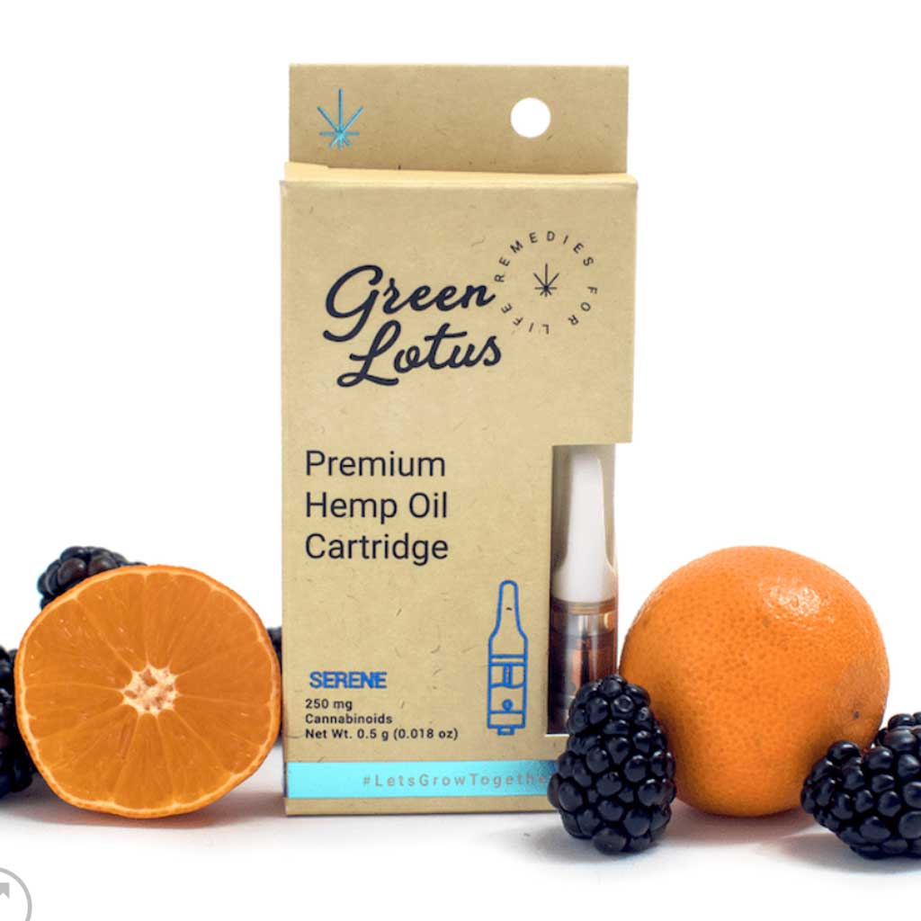 250mg CBD Distillate Vape Cartridge - Orange Blackberry Flavor - Bhango CBD Boutique