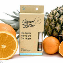 250mg CBD Distillate Vape Cartridge - Orange Pineapple Flavor - Bhango CBD Boutique