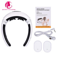 Electric Neck Massager & Pulse Back Massage