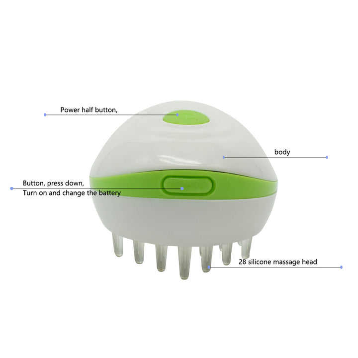 Electric Scalp Head Massager Comb