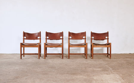/products/borge-mogensen-hunting-dining-chairs-model-3251-denmark-1960s