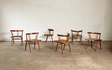 /products/george-nakashima-grass-seat-chairs-usa-1950s