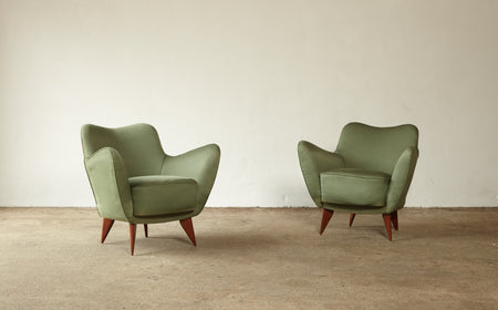 /products/pair-of-giulia-veronesi-perla-armchairs-green-fabric-isa-bergamo-italy-1950s