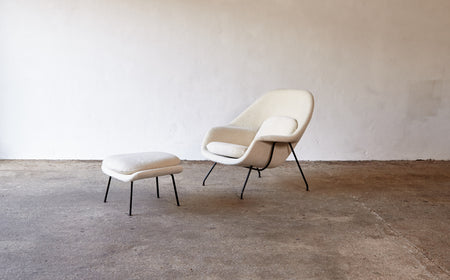 /products/eero-saarinen-womb-chair-and-ottoman-1950s-60s