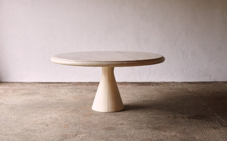 /products/unique-leather-and-pink-marble-round-dining-table-by-marzio-cecchi-italy-1970s
